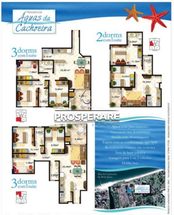 Edifício NOVO! Apartamentos de o2 e 03 dormitórios! Localização de beleza e bem estar incríveis! O a