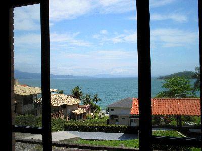 Vista da sala na varanda